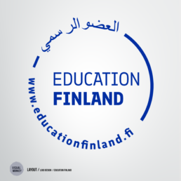 VisualMonkey/ Visual Design / Education FInland logo @visumonkey