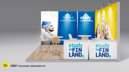 Exhibition Concept Study in Finland